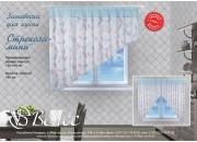 Стрекоза-мини штора для кухни на правую/левую сторону